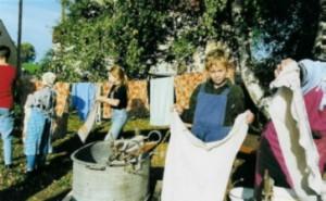 Schulprojekt: Omas Waschtag