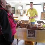 Zum Tag des Brotes können die Gäste unseres Kleinbauernmuseums frische Backwaren der Region probieren