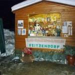 Unser Stand auf dem jährlich stattfindenden Weihnachtsmarkt vor dem Zauberschloss in Schönfeld.