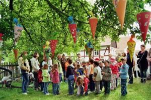 Zuckertütenfest im Kleinbauernmuseum Reitzendorf